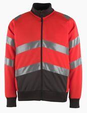 Mascot Maia zipped high-vis sweatshirt size 2XL NEW & measured 50116-950-A49