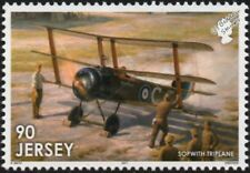 WWI RAF SOPWITH TRIPLANE Fighter Aircraft Stamp (2017 The Great War in the Air)
