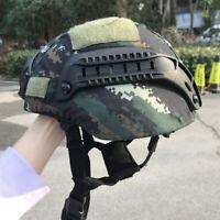 UHMW-PE Bullet Proof MICH 2000B Level IIIA Safety Ballistic Helmet Camouflage