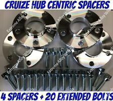 Alloy Wheel Spacers 13mm / 15mm Bmw X3 X4 F25 F26 M14X1.25 + Bolts S Cruize
