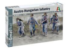 WWI Austro Hungarian Infantry 1914 Figure Plastic Kit 1:35 Model ITALERI