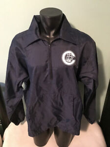 Vtg Columbus Clippers MILB Betlin Pullover Windbreaker Jacket Mens size Large