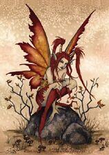 Amy Brown Sticker Decal Fairy Faery Little Red Mischief punk attitude fantasy