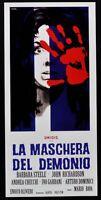 Plakat Die Maske Der Dämon Mario Schleim Barbara Steele Olivieri Garran N44