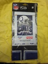 """INDIANAPOLIS COLTS WINCRAFT VERTICAL FLAG 27"""" X 37"""" 573223"""