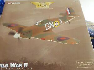 CORGI AA35501  Hawker Hurricane Mk1A-P3576, GN-A249 Squadron LT James Nicholson