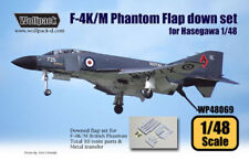 Wolfpack WP48069, F-4K/M British Phantom Hard Wing Flap down set (for Has), 1/48