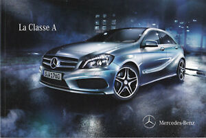 brochure 2012 MERCEDES-BENZ CLASSE A !!! ____________________________en français