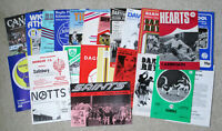MIXED 1979-1980 FOOTBALL PROGRAMMES