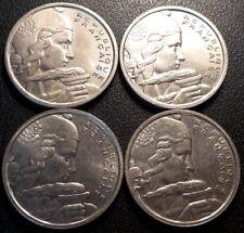 France - IVème République - lot de x4 100 francs Cochet 1954 à 1955 QUALITE