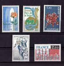 LOT DE TIMBRES N° 1847/1849/1850/1851/1852 NEUF**