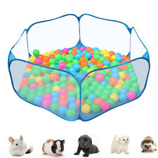 Outdoor Pet Playpen Animal Cage Dog Fences Enclosure Small Puppy Play Yard Crate