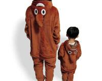 Poo Emoji Emojee Onesie1  Kigurumi Fancy Dress Costume Hoody Pajamas Sleep wear