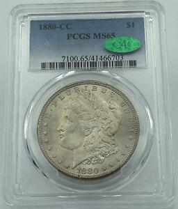1880-CC PCGS & CAC MS65 Morgan Silver Dollar