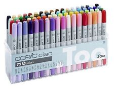 Brand New COPIC Ciao Set A 72 color Pens+Free Carry Case in London Fast Dispatch