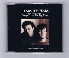 MAXI CD SINGLE (PROMO) TEARS FOR FEARS SONGS FROM THE BIG CHAIR (5 Tr.)