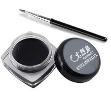 Eye Liner Eyeliner Shadow Gel Makeup Cosmetic & Brush long lasting Waterproof