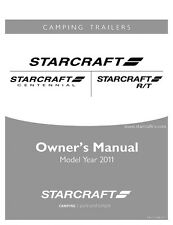 2011 Starcraft Folding Camping Popup Trailer Owners Manual