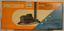 Vollmer German HO Model Heating Plant with Chimney BOX ONLY Vintage 1950's