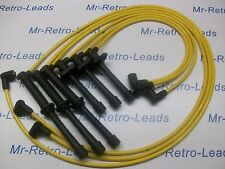YELLOW 8MM IGNITION LEADS TO FIT. MAZDA PROBE V6 24V 323 626 MX-3 6 XEDOS 6 9 HT