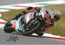 Alex De Angelis Hand Signed 2014 Moto2 Tasca Racing Suter 12x8 Photo 2.