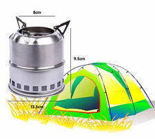 Alkohol And Wood Gas Backpacking Emergency Survival Burning Hiking Camping Stove