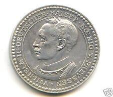 ALLEMAGNE PRUSSE WILHEM II (1888-1918) PROBE 2 MARK 1913 G KARLSRUHE RARE