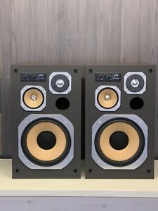 JVC SK700 MkII Loudspeakers - Awesome Vintage Speakers - 10 Inch Bass Units!
