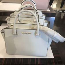 Michael Kors Women Leather Crossbody Satchel Messenger Tote Bag Handbag Purse MK