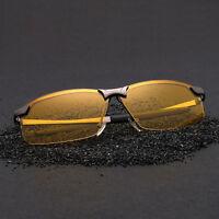 Gafas de sol polarizadas, mejoran la vision nocturna, gran calidad, + Funda