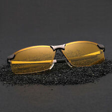 Night Vision HD Driving Glasses Polarized Yellow Lens Tinted Unisex