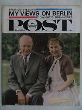 Saturday Evening Post Magazine  December 9,1961  Dwight Eisenhower  VINTAGE ADS