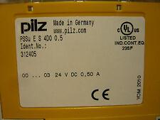 PILZ PSSu E S 4DO 0.5 standard I/O modules (312405) & TERMINAL BASE (312621)