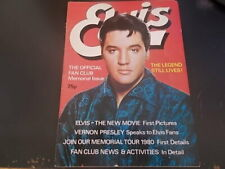 Elvis Presley Official  Fan Club Magazine 1979