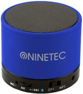 BeatBlaster Bluetooth Bass Speaker Micro SD AUX Freisprechfunktion FM Radio Blau