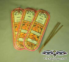 Swagat Natural Amber Incense Sticks Hand Rolled - Comfort, Happiness and Healing