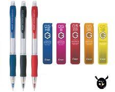 Pilot Super Grip Mechanical Pencil 0.5mm Lead H-185 &Pilot Neox Pencil Lead