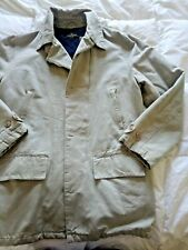 VINTAGE COLOMBO Size L/XL TAN, JACKET FULLY LINED, EUC, 90S PROFESSIONAL STYLE