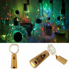 String led Wine Bottle With Cork 10 20 30 LEDLights for Party Christmas Decor SS