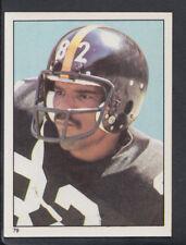 TOPPS 1981 Football Americano Adesivo N. 79-John stallworth-Steelers (T403)