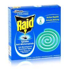 Raid Anti Moustique Répulsif Bobine & Tigre - 1 Paquet De 10