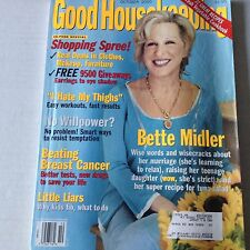 Good Housekeeping Magazine Bette Midler Breast Cancer October 2000 061917nonrh