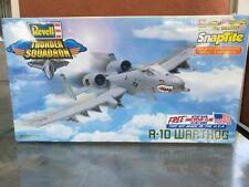 Revell Thunder Squadron A-10 Warthog Plane Model Kit #85-1181 NIP 1:72