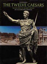 Suetonius Twelve Caesars Rome Julius Augustus Caligula Nero Claudius Tiberius HC