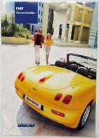 2001 Fiat Barchetta Sales Brochure plus Spec Folder - German Text