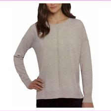 ADRIENNE VITTADINI Women's Long Sleeve Sweater, Size L, Ecram MSK