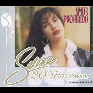 Selena - Amor Prohibido (Limited Edition, Bonus Tracks) CD NEW
