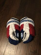 Pro Stock New York Rangers Warrior Luxes Hockey Gloves Anisimov