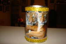 Photos Pen Can Holder Of Wild Tigers Cubs African Cats Lions Office Supplies