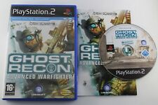PLAY STATION 2 PS2 GHOST RECON ADVANCED WARFIGHTER COMPLETO PAL ESPAÑA